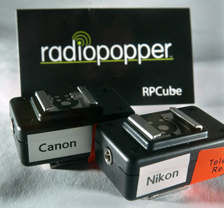 Image of RadioPopper  RPCube Nikon and Canon